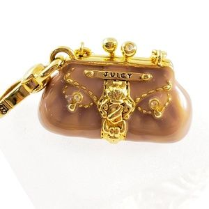 Juicy Couture Jewelry - NWOT! Juicy Couture Purse Charm Handbag